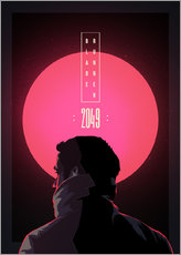Autocolante decorativo  Blade Runner - 2049 - Fourteenlab