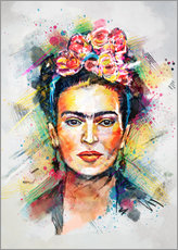 Autocolante decorativo  Frida Flower Pop - Tracie Andrews