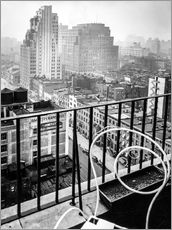 Autocolante decorativo  New York: View from penthouse, 56 Seventh Avenue, Manhattan - Christian Müringer