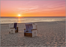 Autocolante decorativo  Beautiful Baltic Sea beach