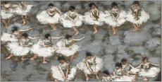 Autocolante decorativo  The ballet - Pierre Bonnard