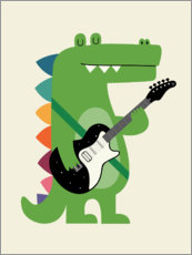 Autocolante decorativo  Croco Rock - Andy Westface