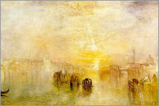 Quadro em plexi-alumínio  Going to the Ball (San Martino) - Joseph Mallord William Turner