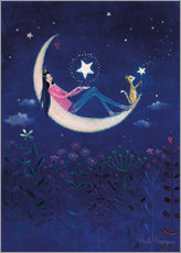 Autocolante decorativo Moon princess