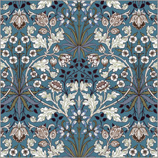Autocolante decorativo  Hyacinth - William Morris