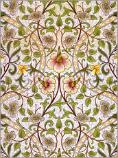 Autocolante decorativo  Narciso - William Morris