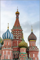 Autocolante decorativo  St. Basil's Cathedral at Red Square in Moscow - Click Alps