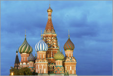 Autocolante decorativo  Brilliant St. Basil's Cathedral in Moscow - Miles Ertman