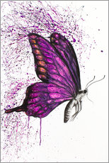 Póster Premium Song of a Butterfly