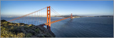 Quadro em tela  Golden Gate Bridge, San Francisco, USA - Jan Christopher Becke