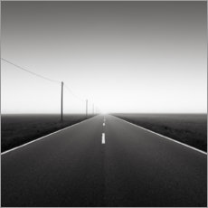 Póster Premium Road to nowhere