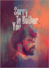 Póster Premium  Sorry To Bother You - Fourteenlab