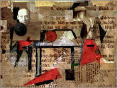 Quadro em acrílico  The tree picture - Kurt Schwitters