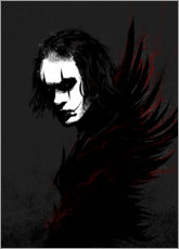 Póster Premium The Crow