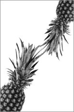 Póster Premium  Pineapple couple - NiMadesign
