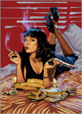 Póster Premium Pulp Fiction
