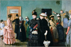 Póster Premium  Albertine to see the Police Surgeon - Christian Krohg