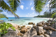 Póster Premium Holidays in the Seychelles