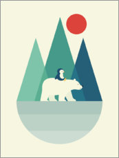 Póster Premium  I bear you - Andy Westface