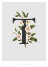 Póster Premium  T is for Tea - Charlotte Day