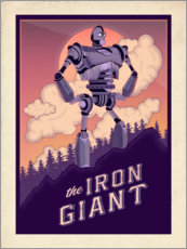 Póster Premium  The Iron Giant - The Usher designs