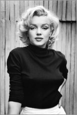 Póster Premium  Marilyn Monroe - Celebrity Collection