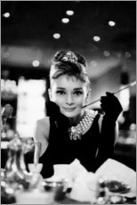 Autocolante decorativo  Audrey Hepburn em Boneca de Luxo - Celebrity Collection
