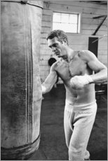 Autocolante decorativo  Steve McQueen boxe - Celebrity Collection