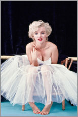 Póster Premium  Marilyn Monroe - Tutu dress - Celebrity Collection