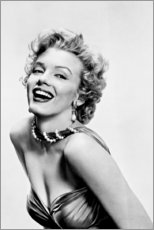 Póster Premium  Marilyn Monroe, sorridente - Celebrity Collection