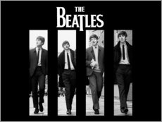 Quadro em PVC  The Beatles - Entertainment Collection