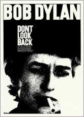 Póster Premium  Bob Dylan, Don't Look Back - Entertainment Collection