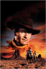 Póster Premium  The Searchers
