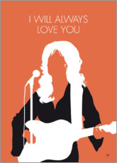 Póster Premium Dolly Parton - I Will Always Love You