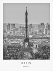 Póster Premium  Paris - Art Couture