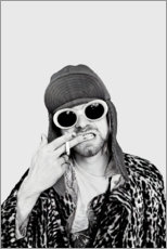 Quadro em tela  Kurt Cobain - Celebrity Collection