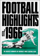 Póster Premium  Football Highlights 1966 - Advertising Collection