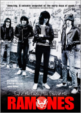 Quadro em acrílico  Ramones - End of the century - Entertainment Collection