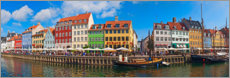Póster Premium  Canal Panorama Nyhavn I