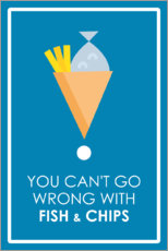 Póster Premium You can't go wrong
