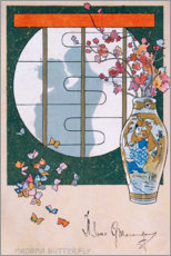 Póster Premium Madame Butterfly III