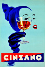 Póster Premium  Cinzano - Advertising Collection