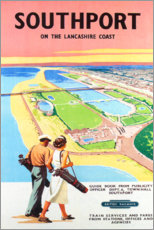 Póster Premium  Southport Golf - Travel Collection