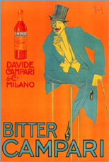 Póster Premium  Bitter Campari - Advertising Collection