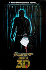 Póster Premium Friday the 13th (English)