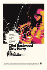 Póster Premium  Dirty Harry - Entertainment Collection