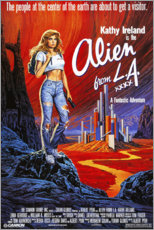 Póster Premium  Alien from L.A. - Entertainment Collection