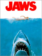 Quadro de madeira  Jaws - Entertainment Collection