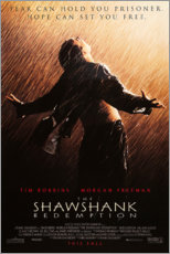 Póster Premium  Os Condenados Shawshank (inglês) - Entertainment Collection