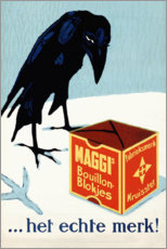 Póster Premium  Maggi Brew Cubes (holandês) - Advertising Collection